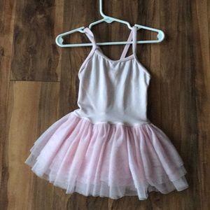 Dance leotard with skirt